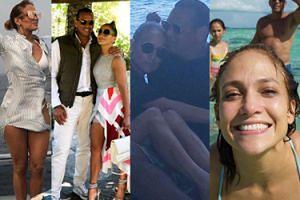 Facet Jennifer Lopez pokazał nieznane zdjęcia z wakacji. Będzie czwarty ślub? (ZDJĘCIA)