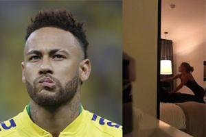 """Wyciekł film z pokoju hotelowego, w którym Neymar miał zgwałcić 26-latkę! """"Uderzysz mnie, prawda?"""""""