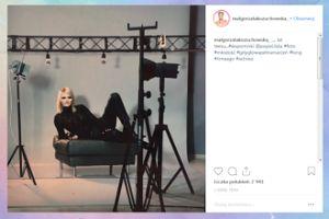 Małgorzata Kozuchowska wspomina zdjęcie sprzed lat