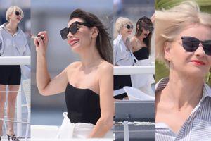 Wyluzowane jak nigdy Dygant i Kożuchowska pozują ze szminkami w Cannes (ZDJĘCIA)