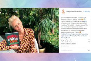 Małgorzata Kożuchowska zachwyca się książką dla synka