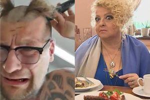 """Popek rzuca wyzwanie... Gessler: """"Britney Spears nominowała mnie do tego challenge'u, że mam ogolić głowę na łyso. JA NOMINUJĘ MAGDĘ"""""""