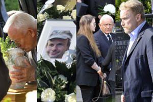 """Pogrzeb Leszka Millera juniora. Przemawiał ojciec: """"Nie potrafił poprosić o pomoc, a my nie potrafiliśmy mu jej udzielić"""" (ZDJĘCIA)"""