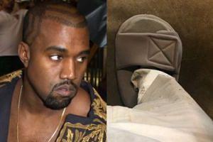 """Kanye West tłumaczy się z za małych klapków i skarpet: """"To tradycyjna moda japońska"""""""