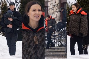 Niezadowoleni Marina i Wojtek Szczęśni oglądają działkę na Podhalu (ZDJĘCIA)