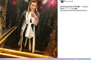 Dominika Grosicka pozdrawia z Fashion Weeku