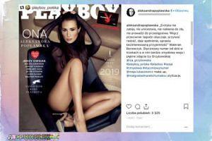 "Aleksandra Popławska kusi na okładce ""Playboya"""