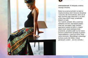Omenaa Mensah wspomina poród