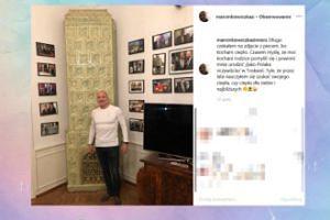 """Marcinkiewicz pozuje z... PIECEM. """"Kocham ciepło"""""""