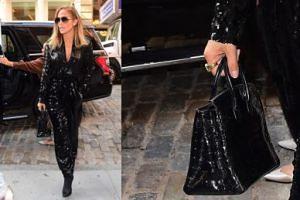 Jennifer Lopez zadaje szyku w Nowym Jorku z jedną z NAJDROŻSZYCH TOREBEK NA ŚWIECIE (FOTO)