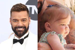 Ricky Martin po raz pierwszy pokazał córkę! Lucia urodziła się w Sylwestra
