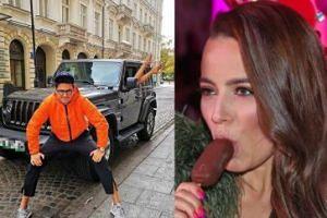 """Kuba Wojewódzki chwali się nogami nowej dziewczyny i Jeepem: """"Moje dwie wielkie namiętności"""" (FOTO)"""