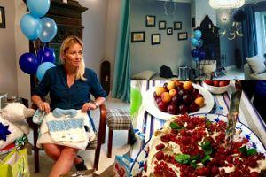 """Odeta Moro pokazała zdjęcia z baby shower: """"Mój dom zamienił się w błękitny raj"""""""