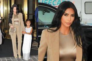 Złota Kim Kardashian z 6-letnią North zmierza do Białego Domu (FOTO)