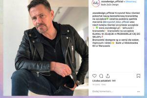 """Poważny i rockowy Krzysztof Ibisz chwali się """"bransoletką szczęścia"""""""