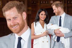 Książę Harry pochwalił się zdjęciem synka z okazji Dnia Ojca!