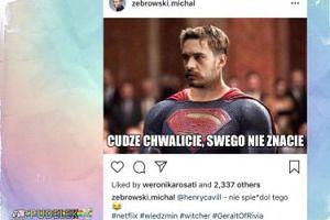 """Michał Żebrowski do Henry'ego Cavilla: """"NIE SP***DOL TEGO"""""""