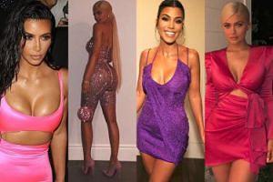 21. urodziny Kylie Jenner: ściśnięte piersi, lateks i środkowe palce (ZDJĘCIA)