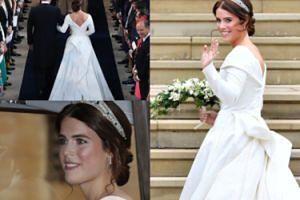 Tak wygląda suknia ślubna księżniczki Eugenii! Piękniejsza od kreacji Meghan i Kate? (ZDJĘCIA)