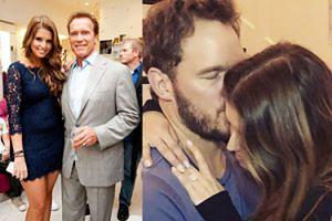 """Córka Arnolda Schwarzeneggera wychodzi za mąż za znanego aktora! """"Jestem podekscytowany tym, że się z tobą ożenię"""""""