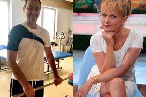 """Jacek Rozenek wraca do zdrowia. """"Radosny, szczęśliwy, wkrótce wróci do pracy"""""""