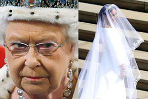 """Suknia ślubna Meghan nie podobała się królowej Elżbiecie? """"Była ZASKOCZONA"""""""