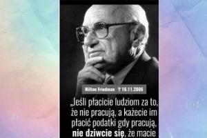 Janda cytuje Miltona Friedmana
