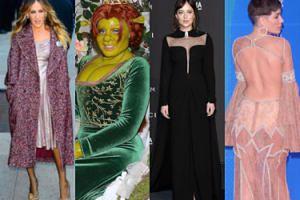 Najciekawsze stylizacje tygodnia: elegancka Sarah Jessica Parker, mroczna Dakota Johnson oraz zzieleniała Heidi Klum (ZDJĘCIA)