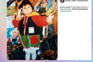 Mała Jessica Ziółek zadaje szyku w roku 2001