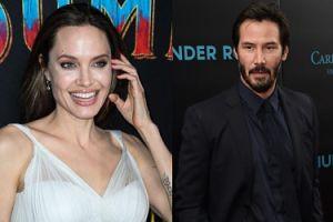 Angelina Jolie romansuje z Keanu Reevesem? Poznali się dzięki mamie gwiazdora!