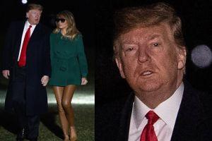 """Dziwne spodnie Melanii Trump wracają z podróży do Iraku. """"Próbowała dobrać ich kolor do opalenizny?"""""""