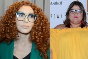 """Ewa Minge o żółtej o żółtej kreacji Dominiki Gwit: """"Ma prawo do tej estetyki. Niech pozostanie sobą"""""""