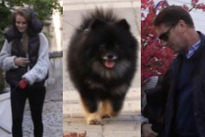 Czarek Lis zabrał na spacer Tomasza Lisa i Polę. Poszli do ulubionej knajpy celebrytów (WIDEO)