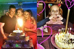 Kasia Skrzynecka zorganizowała z mężem HUCZNĄ IMPREZĘ z okazji siódmych urodziny córki (FOTO)