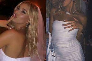 Skromna Hailey Bieber bawiła się na wieczorze panieńskim w sukience za… 230 złotych!