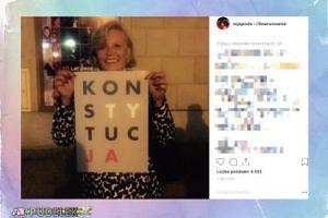 Janda broni konstytucji na Instagramie