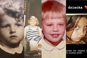 Gwiazdy chwalą się zdjęciami z dzieciństwa: Gwit, Gessler, Wieniawa, Sablewska... (ZDJĘCIA)