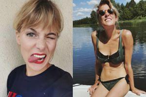 """Marta Wierzbicka odpowiada na krytykę nowej figury: """"Mam się bardzo dobrze! Nigdy chyba nie miałam się lepiej!"""""""