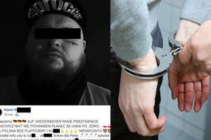 """Śląski raper aresztowany za naśmiewanie się w Internecie ze śmierci Adamowicza. """"Waga zdarzenia jest duża"""""""