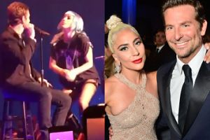 Lady Gaga zaprosiła na scenę Bradleya Coopera podczas koncertu w Las Vegas (WIDEO)