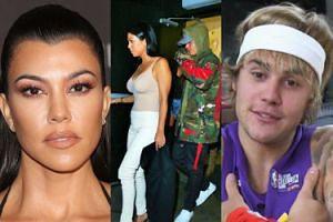 Kourtney Kardashian i Justin Bieber widziani razem w kościele...