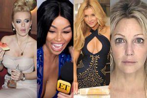 Nie tylko Heather Locklear: Oto celebrytki, które rozwiązują problemy pięścią (ZDJĘCIA)