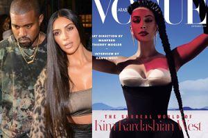 """Kim Kardashian udzieliła wywiadu mężowi na łamach arabskiego """"Vogue'a"""": """"Dlaczego zmarnowałam tyle czasu i energii na innych mężczyzn?"""""""