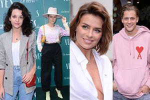 """Celebryci na imprezie YES: Jessica Mercedes w """"kapeluszu pszczelarza"""" i Natasza Urbańska bez stanika (ZDJĘCIA)"""