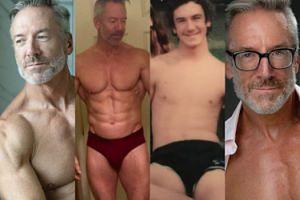 CIACHO TYGODNIA: Clayton Paterson, 60-letni model bielizny (ZDJĘCIA)