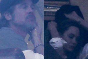 """Jolie i Pitt spotkali się pierwszy raz od ponad dwóch lat! """"Przebywanie w jednym pokoju z Bradem było dla niej bolesne"""" (FOTO)"""