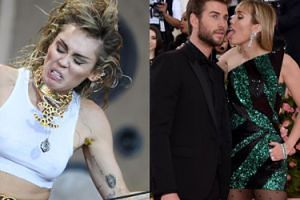 """Miley Cyrus nie potrafi się odnaleźć w małżeństwie z Liamem? """"Jestem w hetero związku, ale cały czas bardzo pociągają mnie kobiety"""""""