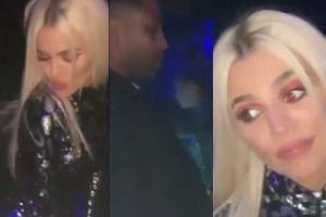 Dramat Khloe Kardashian na sylwestrze. Jej chłopak NIE ZAUWAŻYŁ, że na nim twerkuje (WIDEO)
