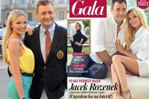"""Już jest okładka """"Gali"""" z Jackiem Rozenkiem i Roxi Gąską! Poznajecie?"""