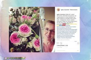 Agata Młynarska dziękuje za wsparcie